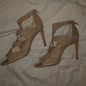 "Calvin Klein Suede ""Adela""Heel  Shoe  Size 11"